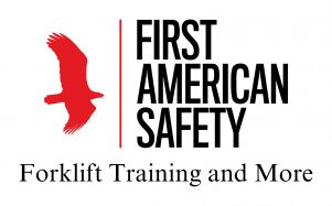first american safety training white background