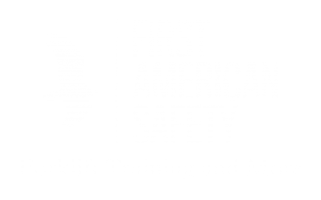 Forklift Certification Training Online First American Safety Training